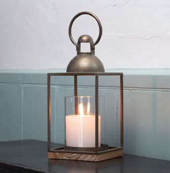 Industrial Square Based Lantern
