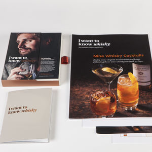 Personalised Interactive Online Whisky Experience - wines, beers & spirits