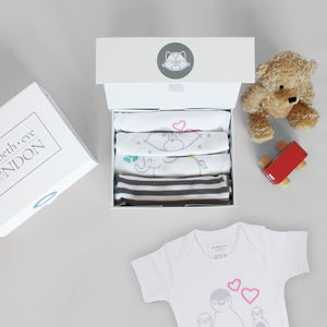 Baby Grow Gift Set Of Four Penny
