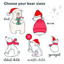 choose your bear sizes