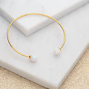 Gold And Opal Bangle