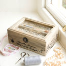 French Inspired Sewing And Crafts Box For Her
