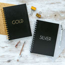 Personalised Stylish Weekly Diary