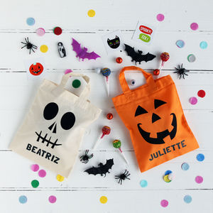 Halloween Personalised Trick Or Treat Party Bags - party bags and ideas