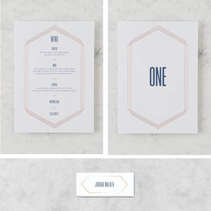 'Linked In Life' On The Day Wedding Stationery Bundle