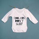 Cool Kids Long Sleeved Baby Vest