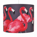 30cm Flock of Flamingos Lampshade