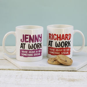 Personalised At Work Mug