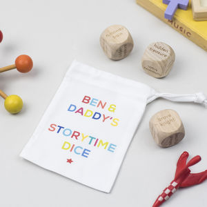Personalised Storytime Dice