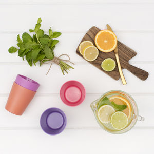 Four Set Of Children's Bamboo Cups, Eco Friendly