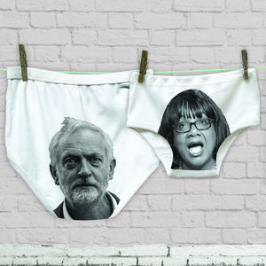 Valentine Corbyn And Abbott Labour Party Pant Set