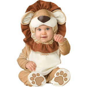Baby's Lion Dress Up Costume Personalised