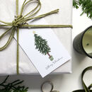 'Merry Christmas' Christmas Tree Gift Tags