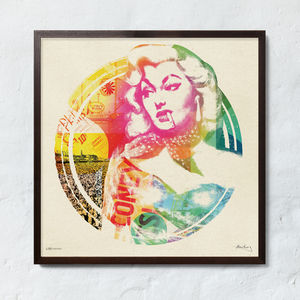 Ltd. Edition Pop Art Print #Three By The Stereo Typist