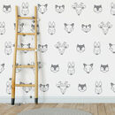 Geometric Woodland Wall Stickers