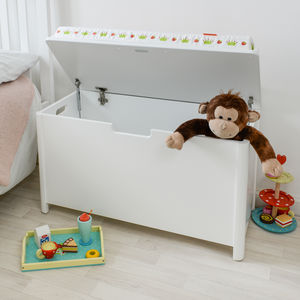 Children's Toy Storage Seat Chest Box - children's furniture