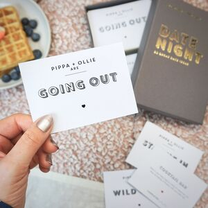 52 Personalised Date Night Cards