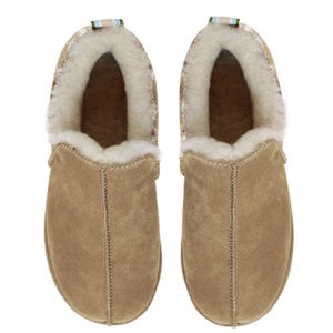 Light Camel Lola Sheepskin Slippers