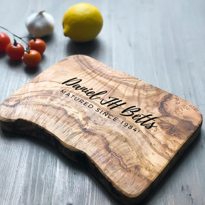 Personalised 'Christmas' Cheese Board Gift