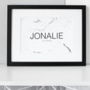 Personalised Super Couple Print