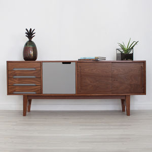 Edgeware Handmade Walnut Sideboard - furniture