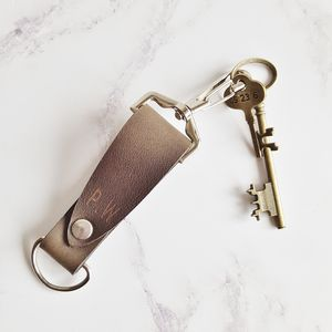Customized Leather Key Fob