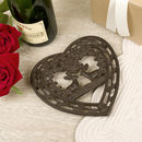 Personalised Cast Iron Stag Trivet Gift