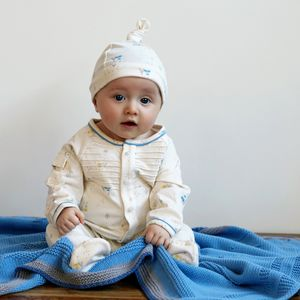 Baby Boys Wigwam Babygrow And Hat Gift Set