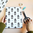 License To Party, Bear Wrapping Paper