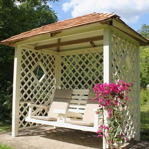 The Heritage Garden Swing - garden furniture