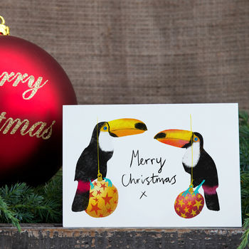 Toucan Christmas Card / Pack