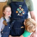 Father's Day Dad Or Grandad Merit Patch Apron
