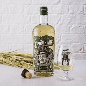 The Epicurean Lowland Malt Scotch Whisky With Tote Bag