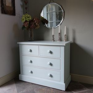 Hand Painted Chest Of Drawers In Various Sizes
