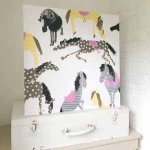 'Horses' Original Painting On Canvas