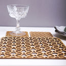 Good Times Placemats And Coasters Tableware Set