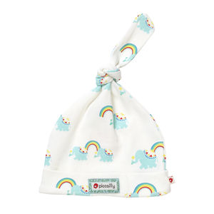 Rainbow Elephant Knotted Baby Hat
