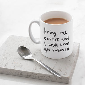 Bring Me Coffee Mug - sale by category
