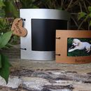 Personalised Pet Leather Photo Frame