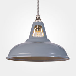 Coolicon Industrial Pendant Light Powder Coated - bedroom