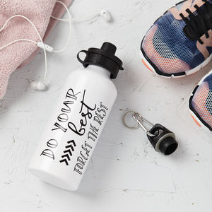 Forget The Rest Do Your Best Water Drinks Bottle - gifts for the health conscious