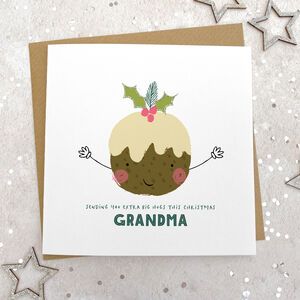 Extra Big Christmas Hugs Card