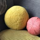 Yellow Sun Cushion Knitting Kit