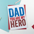 Hero Dad Card