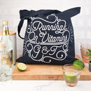 Running On Vitamins G And T Tote Bag