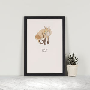 Foxy – Red Fox - posters & prints