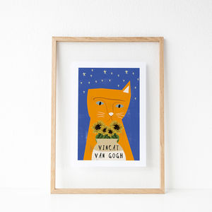 'Vincat Van Gogh' Cat Print - pet-lover