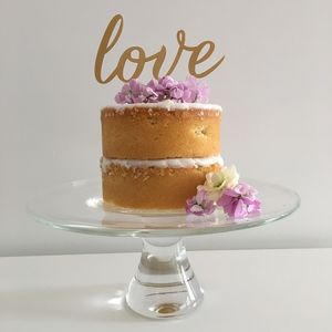 Love Wedding Cake Topper - cake toppers & decorations