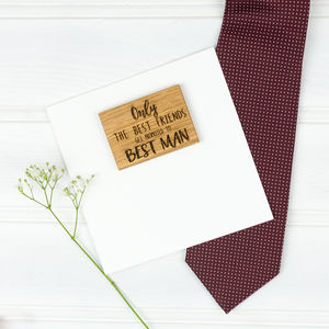 Personalised Be My Best Man Or Usher Card - wedding thank you gifts