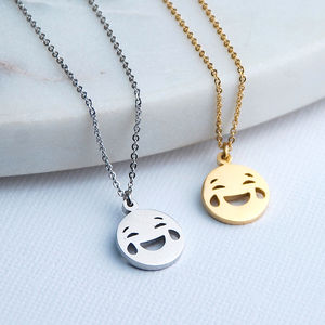 Personalised Emoji Necklace - fashion jewellery